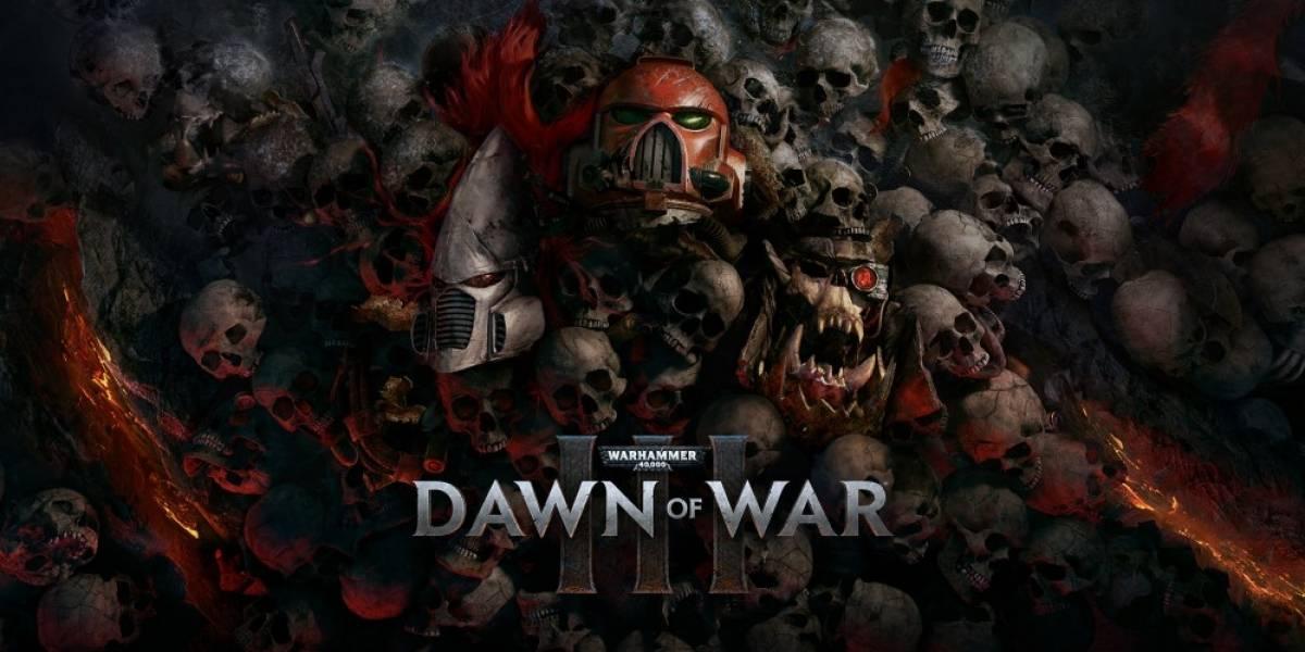 Warhammer 40,000: Dawn of War 3 tendrá Beta abierta este mes