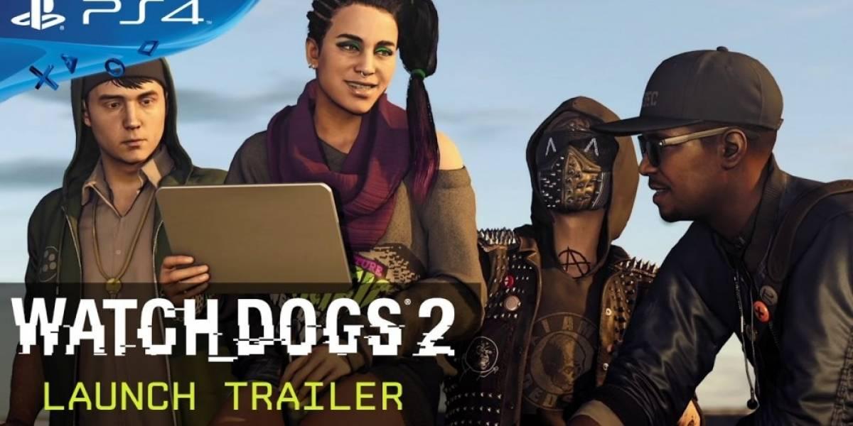 Watch Dogs 2 recibe tráiler de lanzamiento