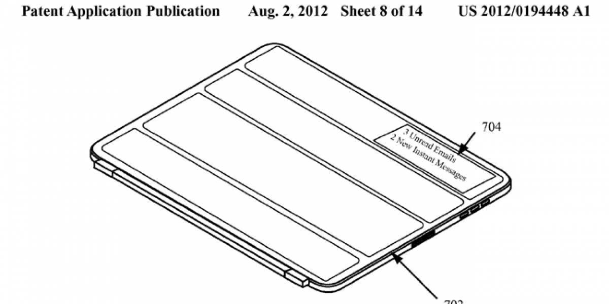 Apple patenta cubierta flexible 'inteligente' para el iPad