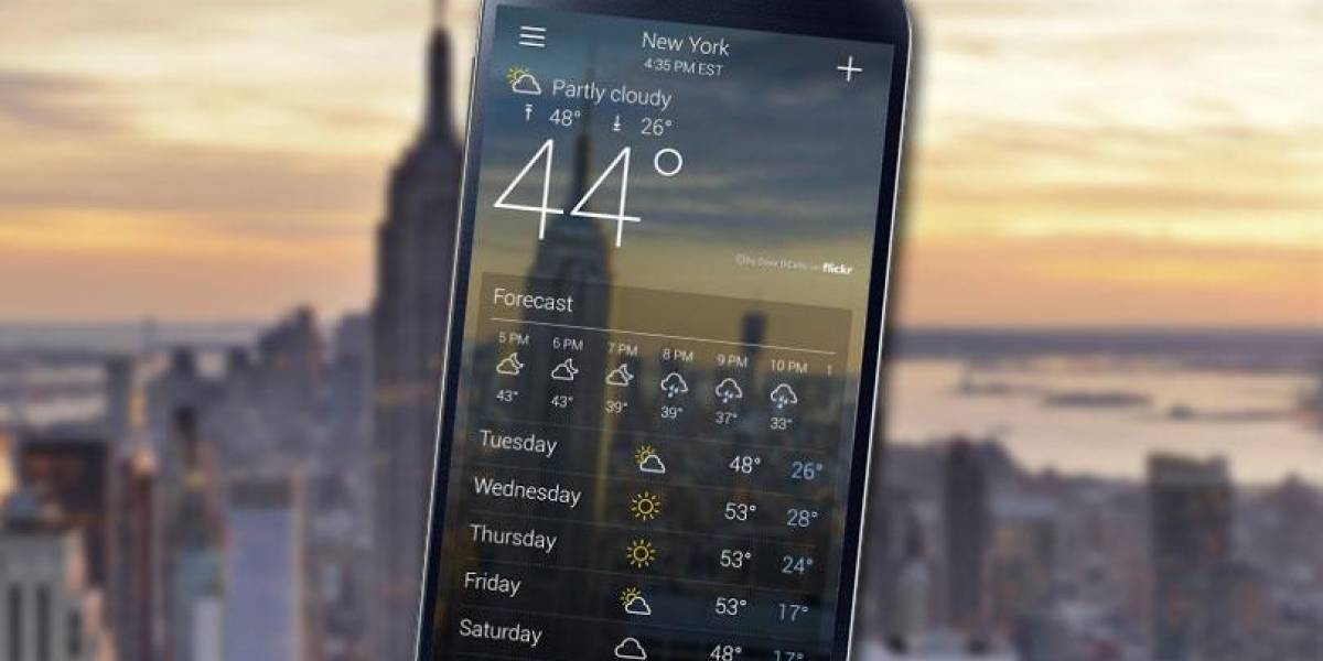 Resultados de la encuesta: ¿Confías en la aplicación del clima de tu celular?