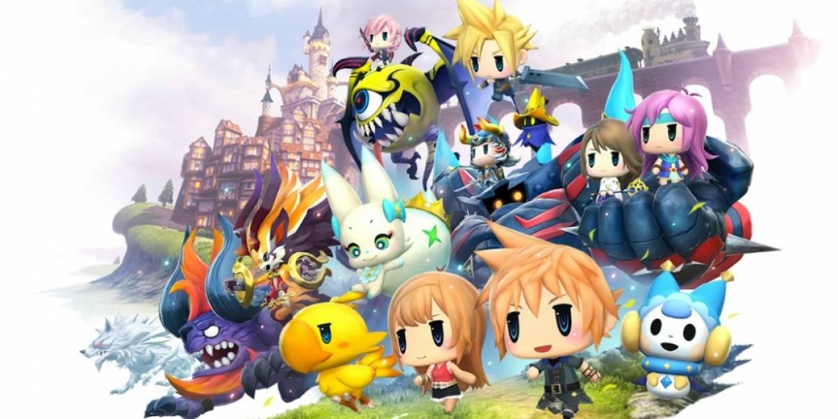 World of Final Fantasy ofrecerá demo la próxima semana