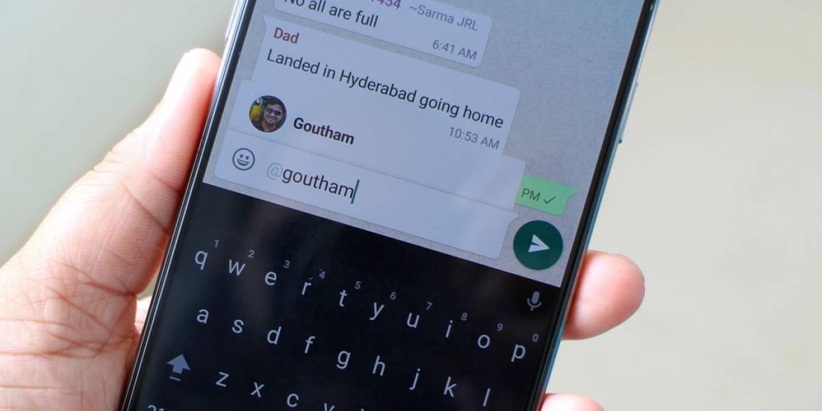 WhatsApp introduce búsqueda de emojis