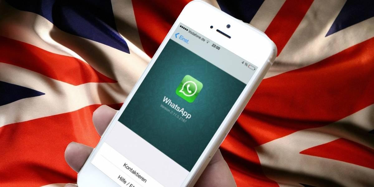 Gobierno británico quiere romper cifrado de WhatsApp tras atentado
