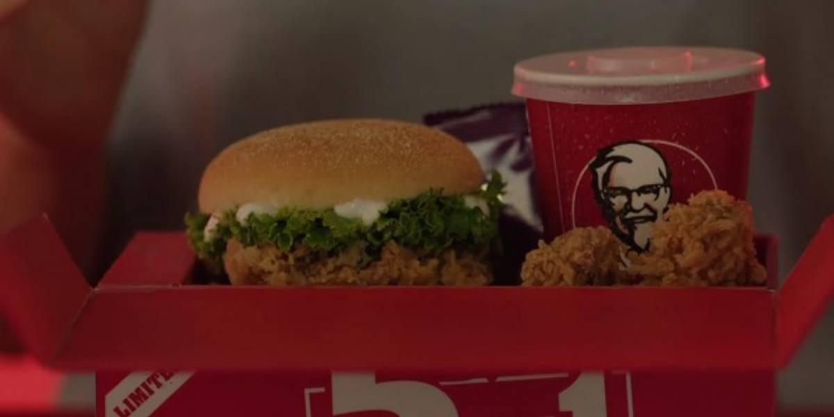 KFC lanza una caja de comida que puede recargar tu teléfono