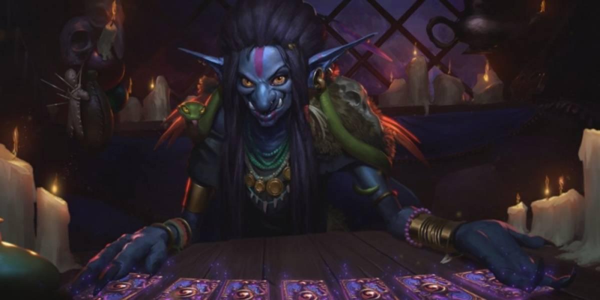 Exclusiva: Blizzard nos revela una carta de Hearthstone Susurros de los Dioses Antiguos