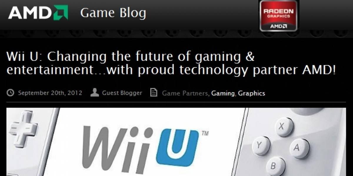AMD Confirma que es el fabricante del GPU de la consola Nintendo Wii U