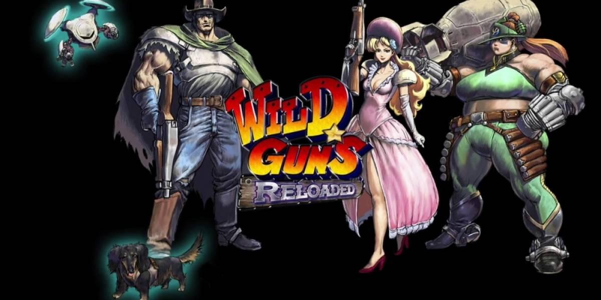 Wild Guns Reloaded recibe nuevo tráiler con Bullet y Doris en acción