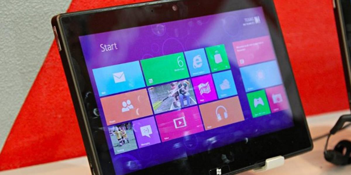 Microsoft limita el número de ensambladores que harán tabletas con Windows RT