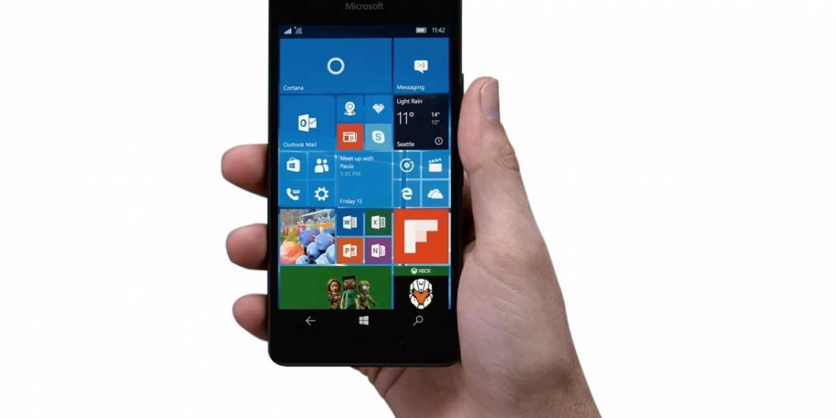 Pantalla de bloqueo de Windows 10 Mobile expone tus fotografías