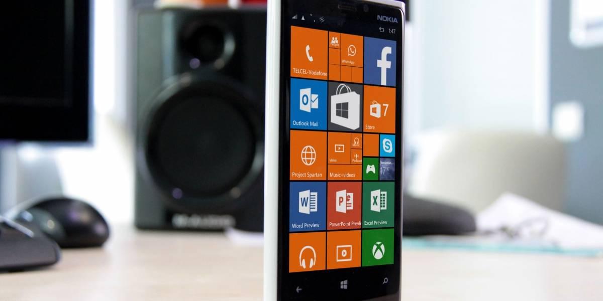 """Microsoft anuncia los teléfonos """"recomendados"""" para Windows 10"""