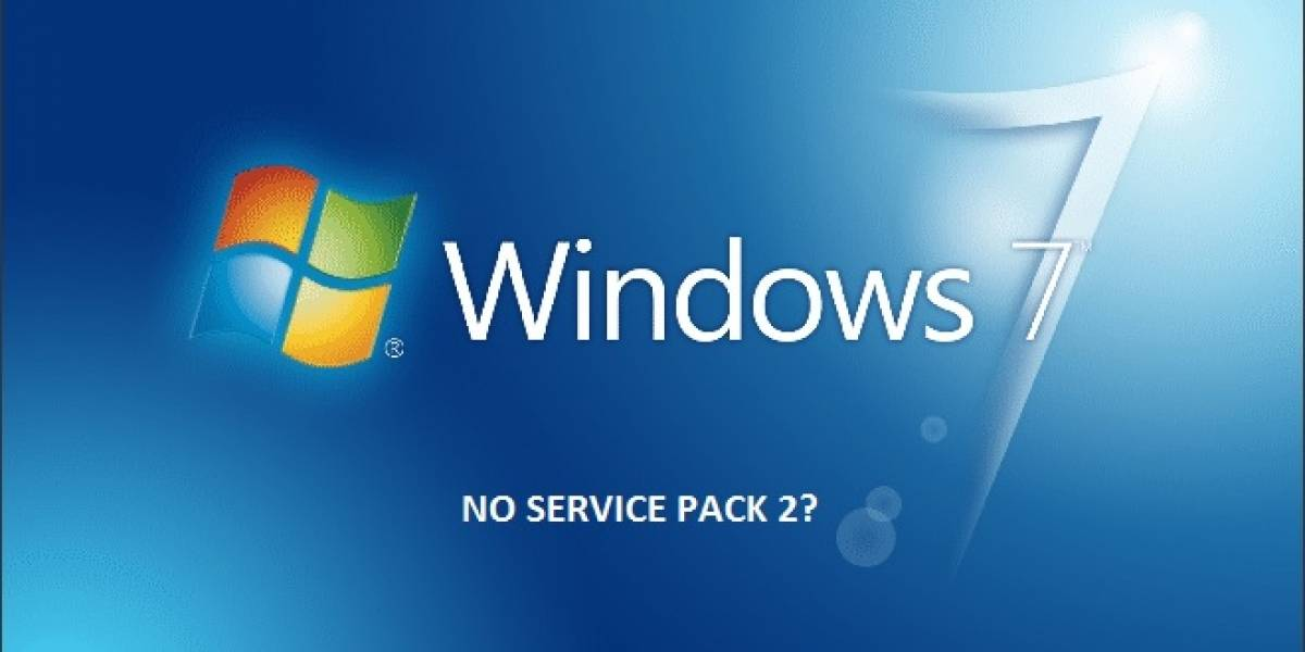 Rumor: No habrá un Service Pack 2 para Windows 7