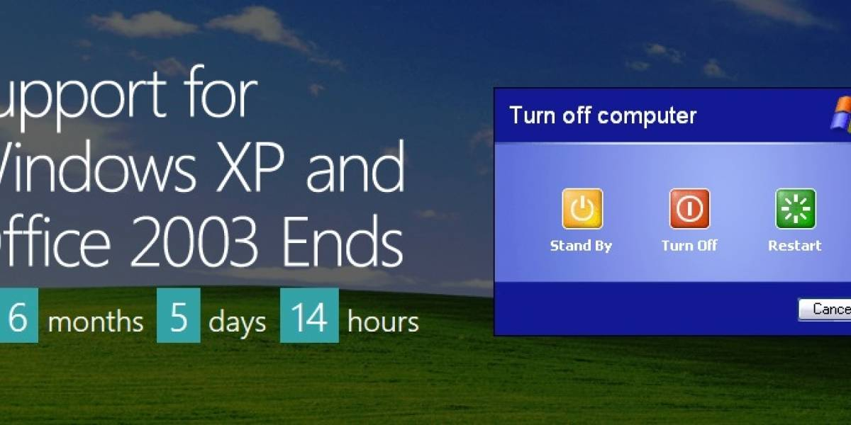 El fin de Windows XP: una oportunidad para el resurgimiento del PC