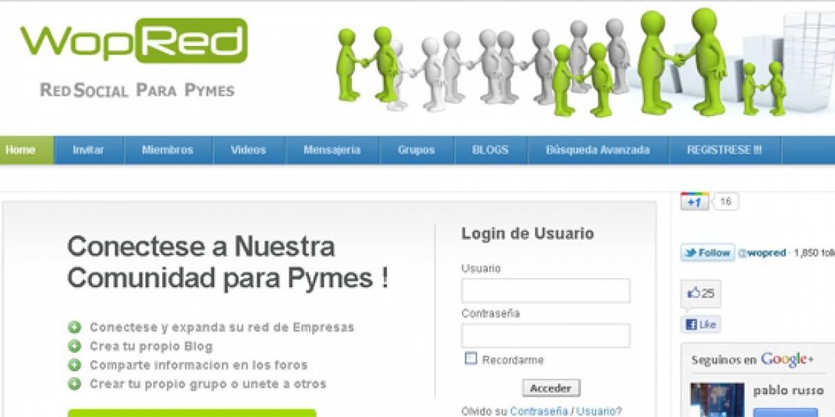 Llega WopRed: La red social para Pymes