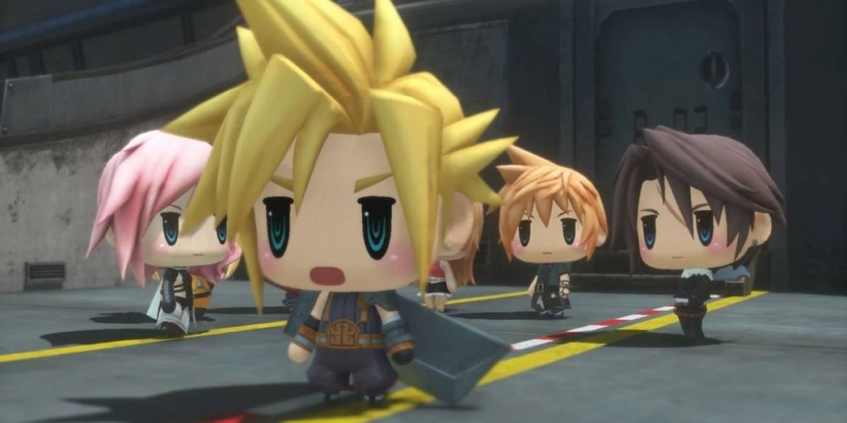 World of Final Fantasy ya tiene fecha de lanzamiento