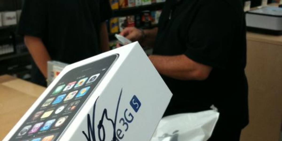 Wozniak tuvo que ponerse en la cola para conseguir su iPhone 3G S