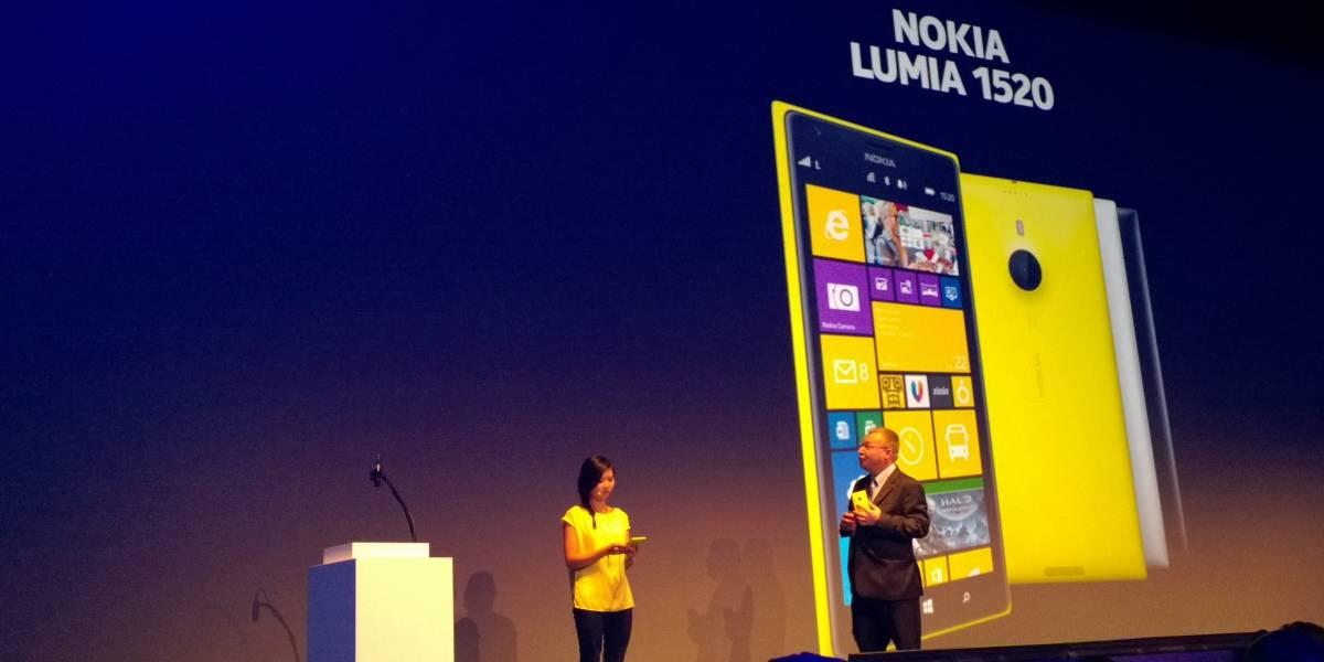 """Nokia 1520, el primer phablet de la finlandesa dice """"Hola"""" en Nokia World"""