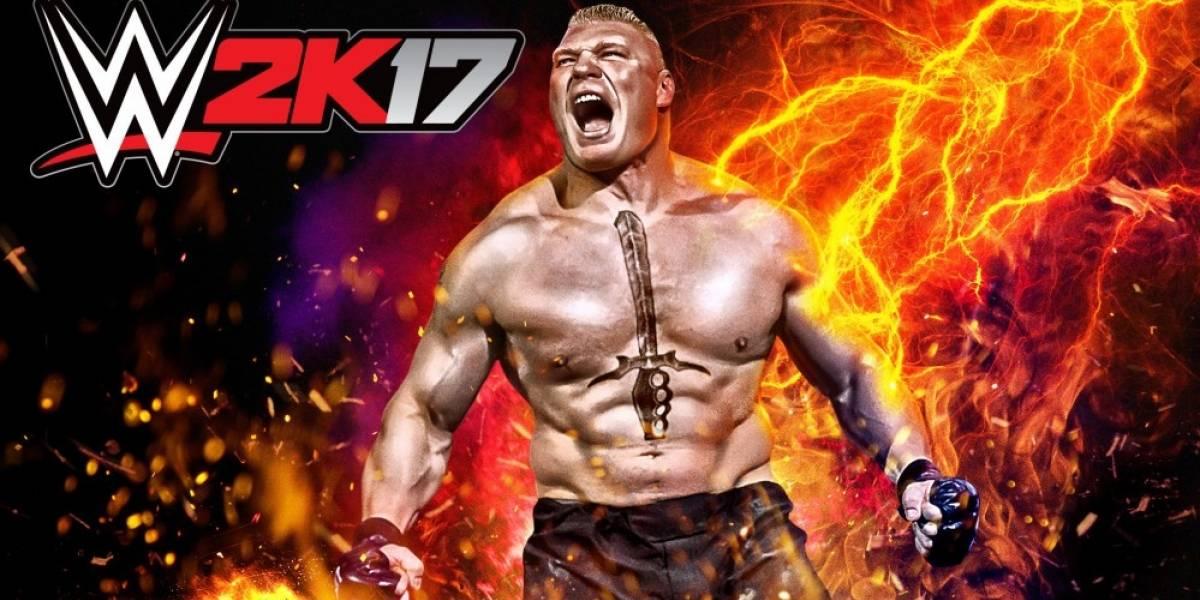 Mira el tráiler de lanzamiento de WWE 2K17