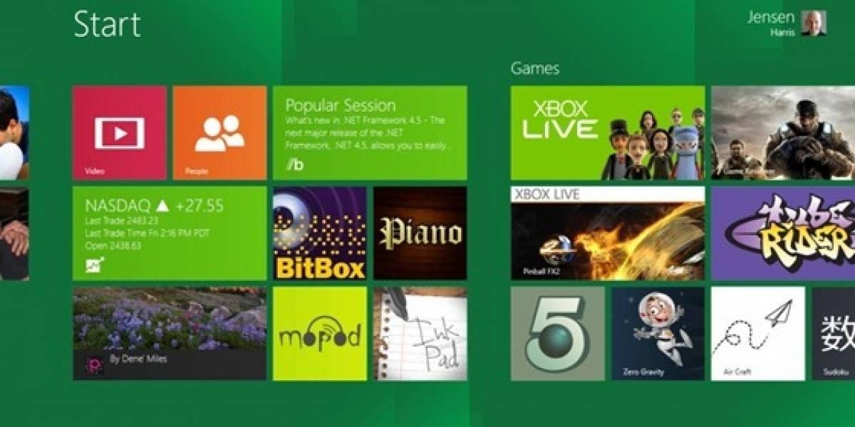 Microsoft explica aspectos de la pantalla de inicio en Windows 8