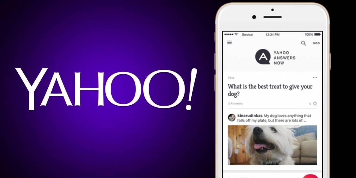 Yahoo Respuestas ahora tiene aplicación móvil