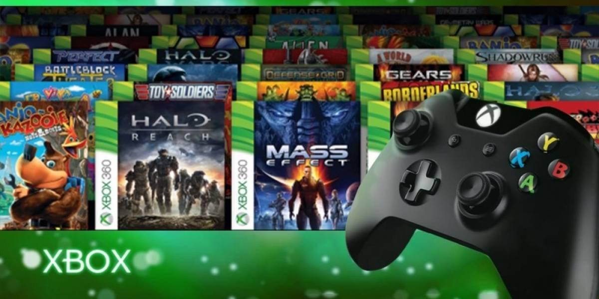 Juegos de Xbox 360 retrocompatibles ahora vienen en cajas de Xbox One