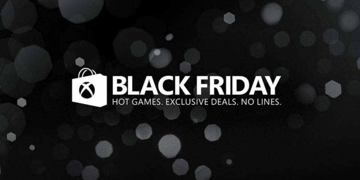 Se agregan más ofertas a la venta de Black Friday en Xbox Store