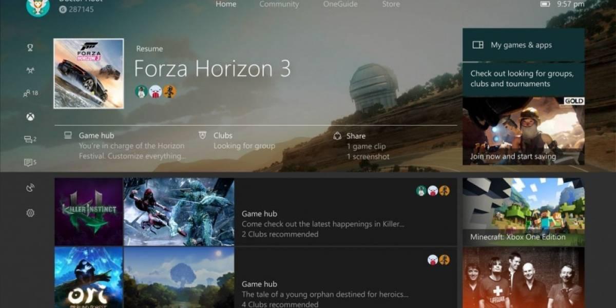 Microsoft presenta video que nos muestra la nueva Guía y Pantalla de Inicio de Xbox One