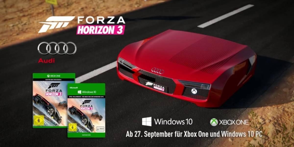 Conozcan la Xbox One S Edición Audi R8