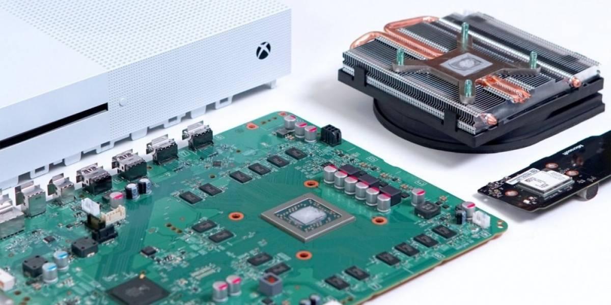 Vean cómo desarman una consola Xbox One S