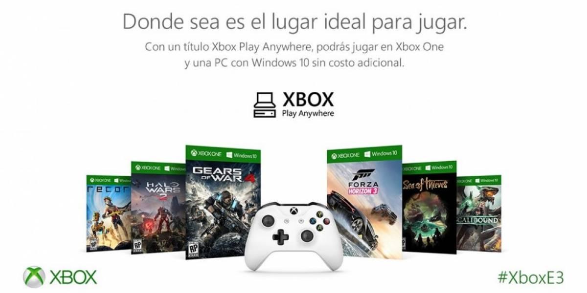 Presentan el programa Xbox Play Anywhere #E32016