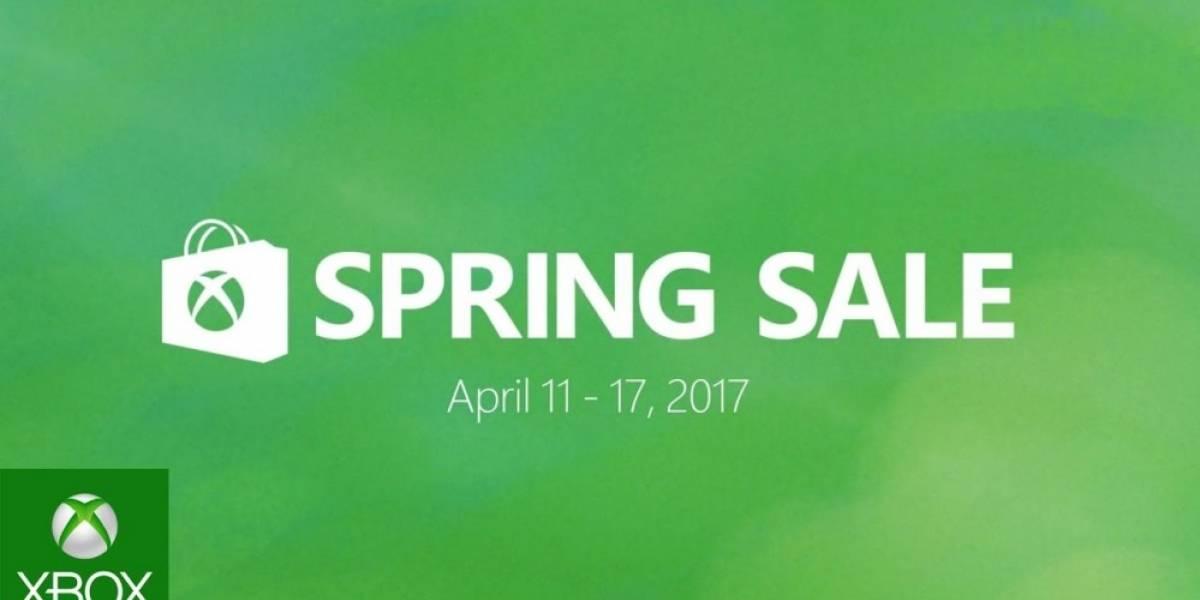 Mañana arrancan las ofertas de Primavera de Xbox
