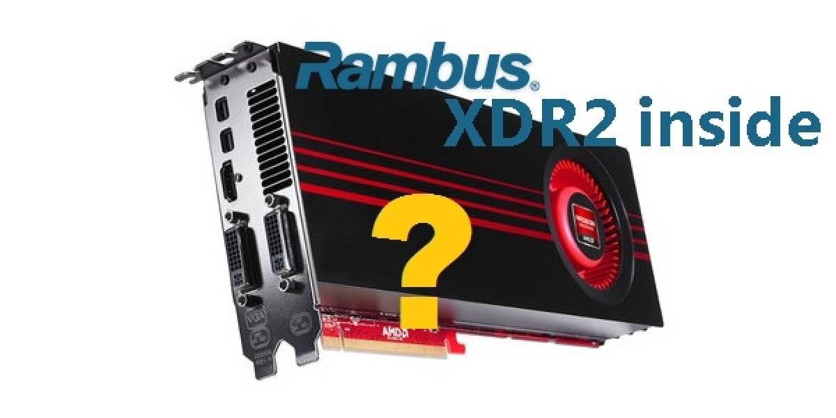 AMD posee licencias para usar memorias Rambus XDR2