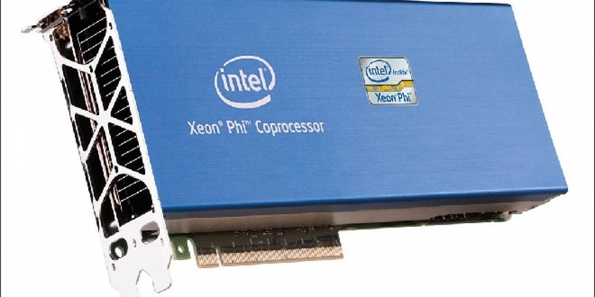 Intel Xeon Phi posee 62 núcleos funcionando a más de 1GHz