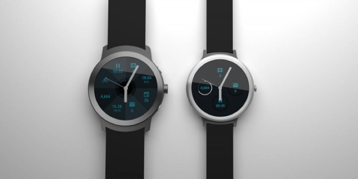 Google lanzará dos smartwatches con Android Wear en 2017