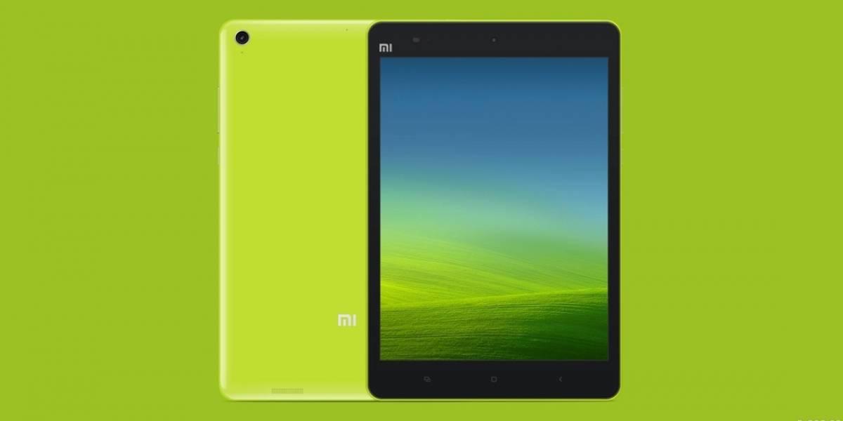 Xiaomi lanza su tablet 'Mi Pad' de 7,9 pulgadas