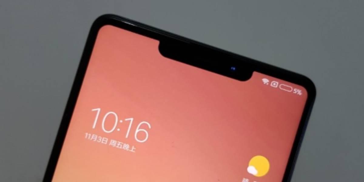 Xiaomi podría adoptar el lenguaje del iPhone X en el futuro cercano