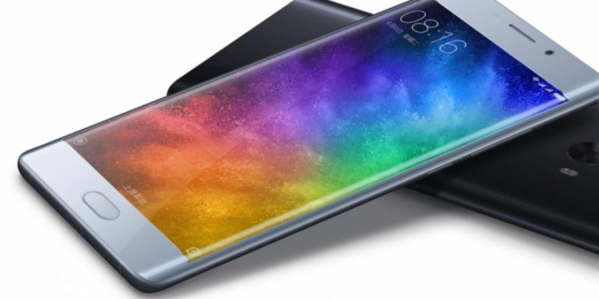 Xiaomi Mi Note 2 se vendió por completo en 50 segundos