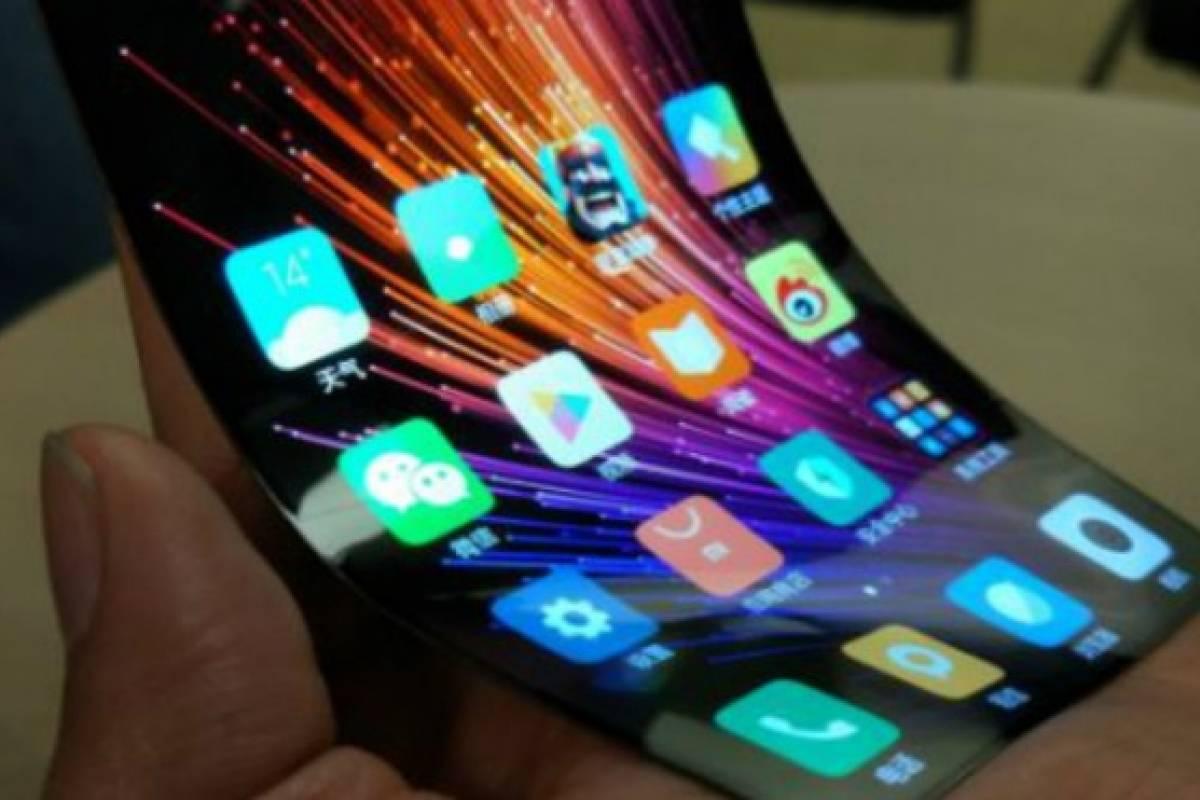 Xiaomi consiguió fabricar una pantalla táctil flexible
