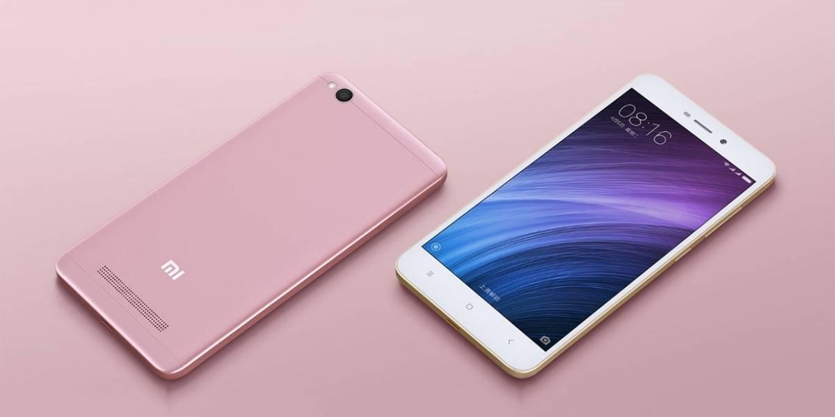 Xiaomi Redmi 4A llega a México con Walmart en la Hot Sale 2017