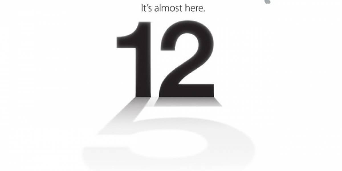 Definitivo: Apple lanzará el iPhone 5 el 12 de Septiembre