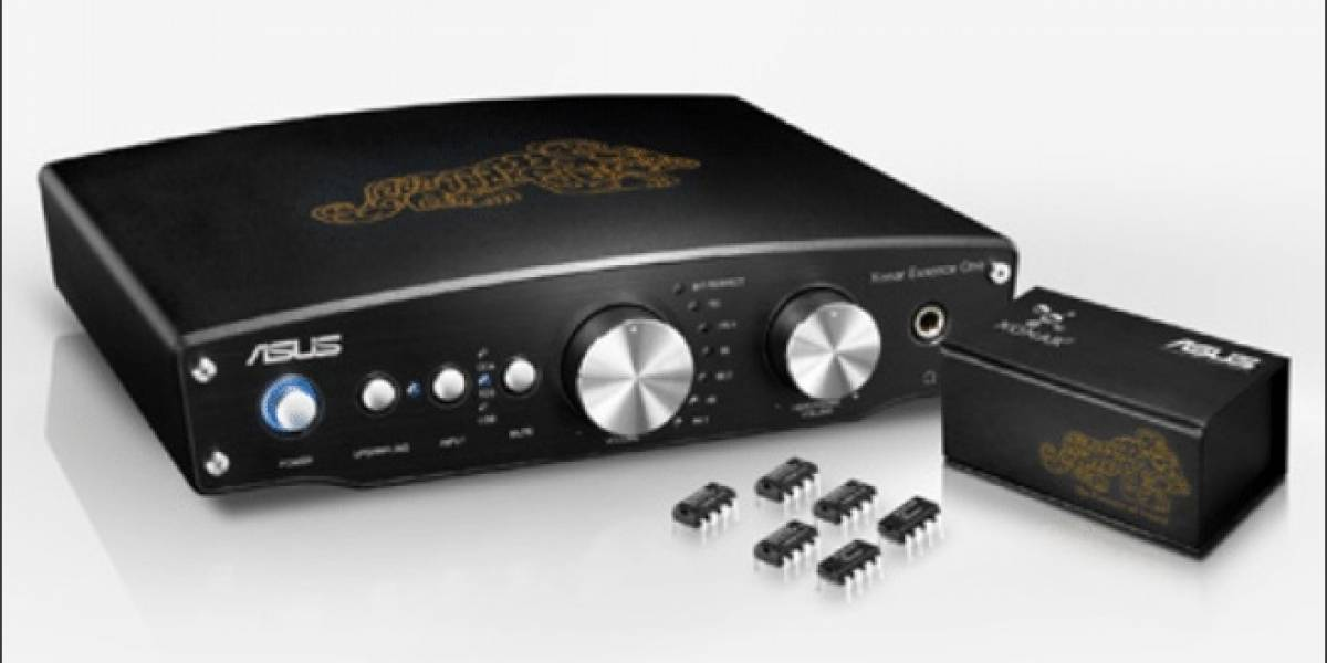 ASUS anuncia su tarjeta de sonido Xonar Essence One MUSES Edition
