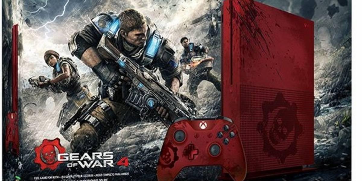 Microsoft lanzaría consola Xbox One S de Gears of War 4
