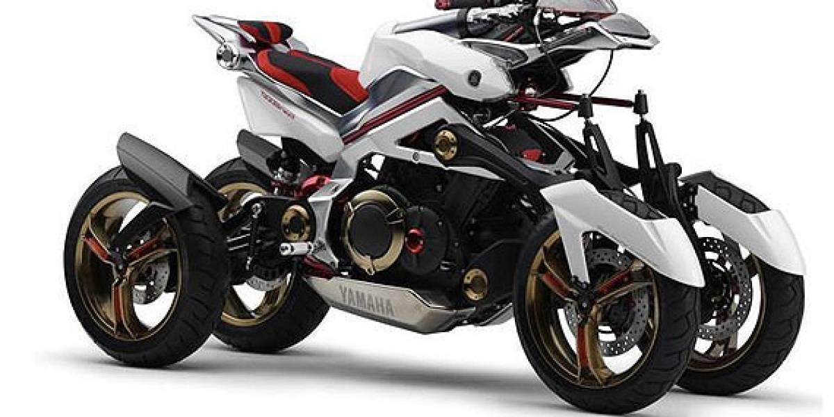 Yamaha Tesseract: Moto conceptual de cuatro ruedas