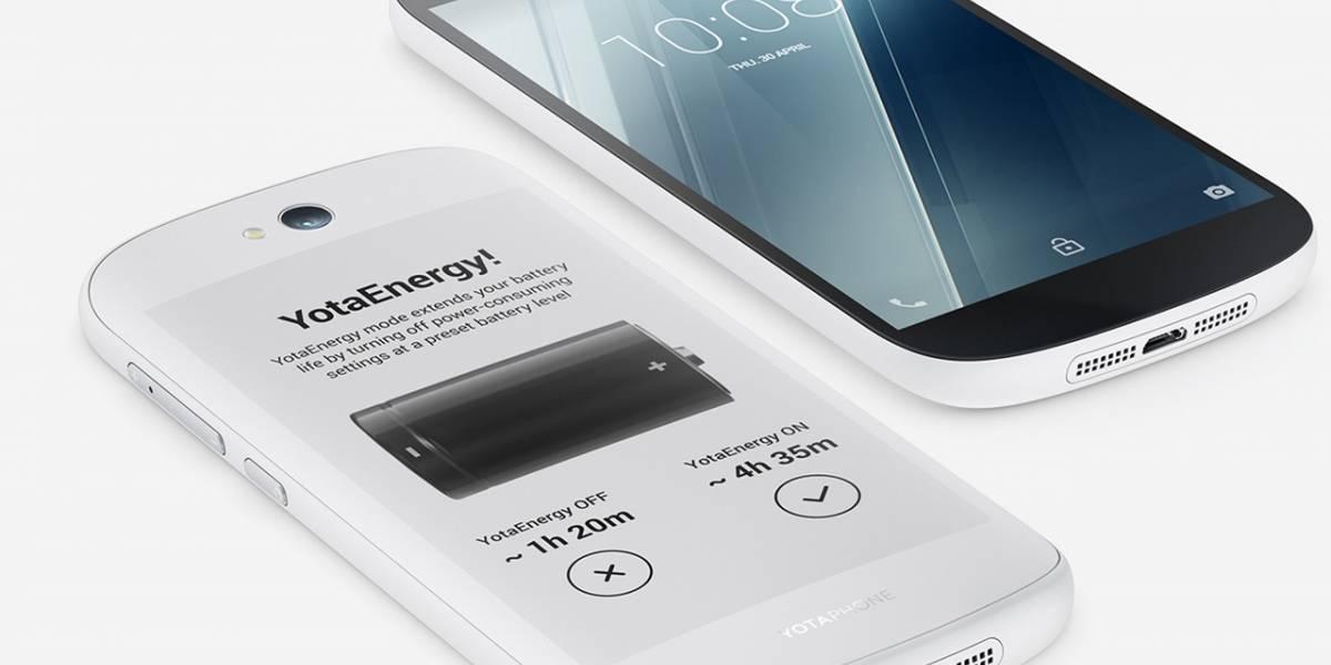 YotaPhone 2 baja de precio y lanza un modelo color blanco