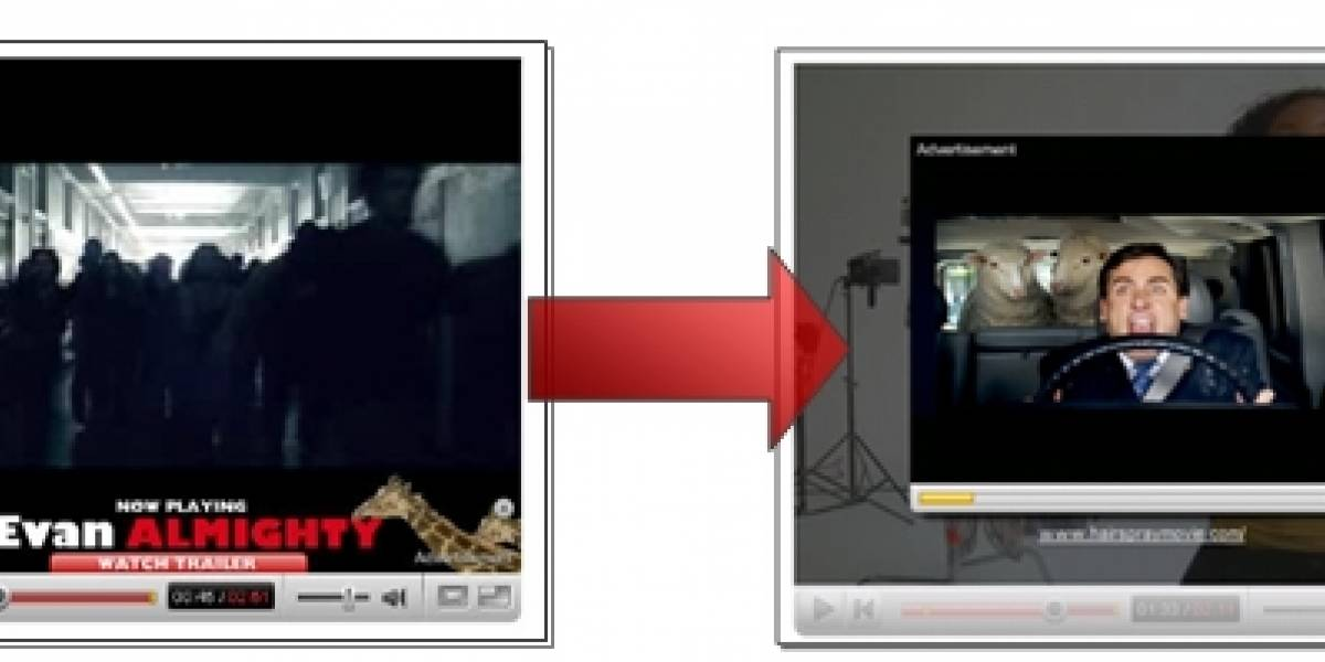 YouTube incluirá publicidad encima de videos