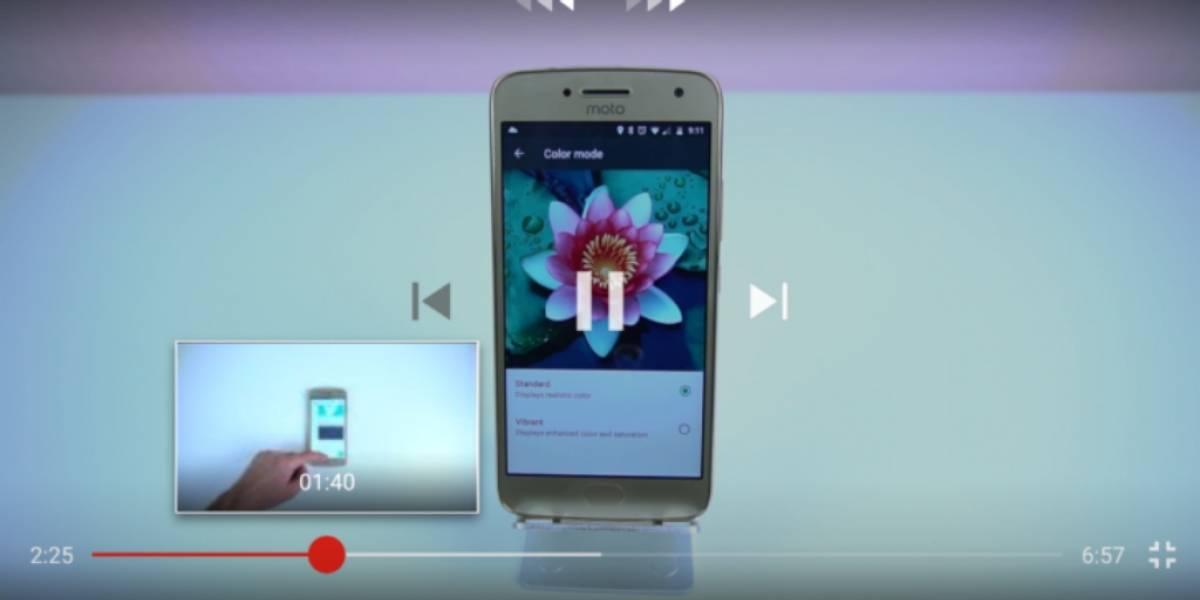 YouTube para Android introducirá vista preliminar de videos