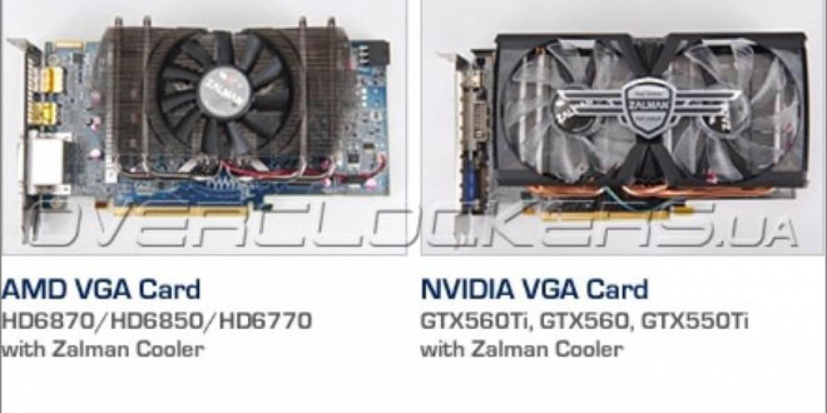 Zalman fabricara tarjetas de video con GPUs AMD y Nvidia