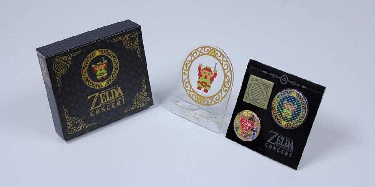 Un vistazo a la edición limitada del álbum Zelda: 30th Anniversary Concert