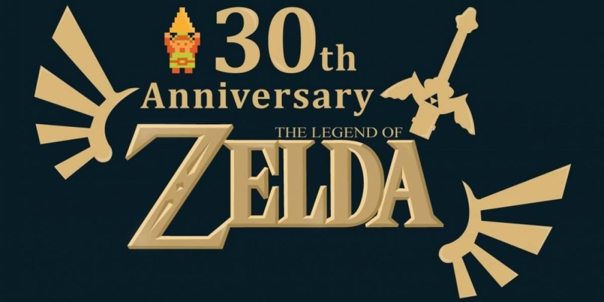 Nintendo revela documentos de The Legend of Zelda por su 30 aniversario