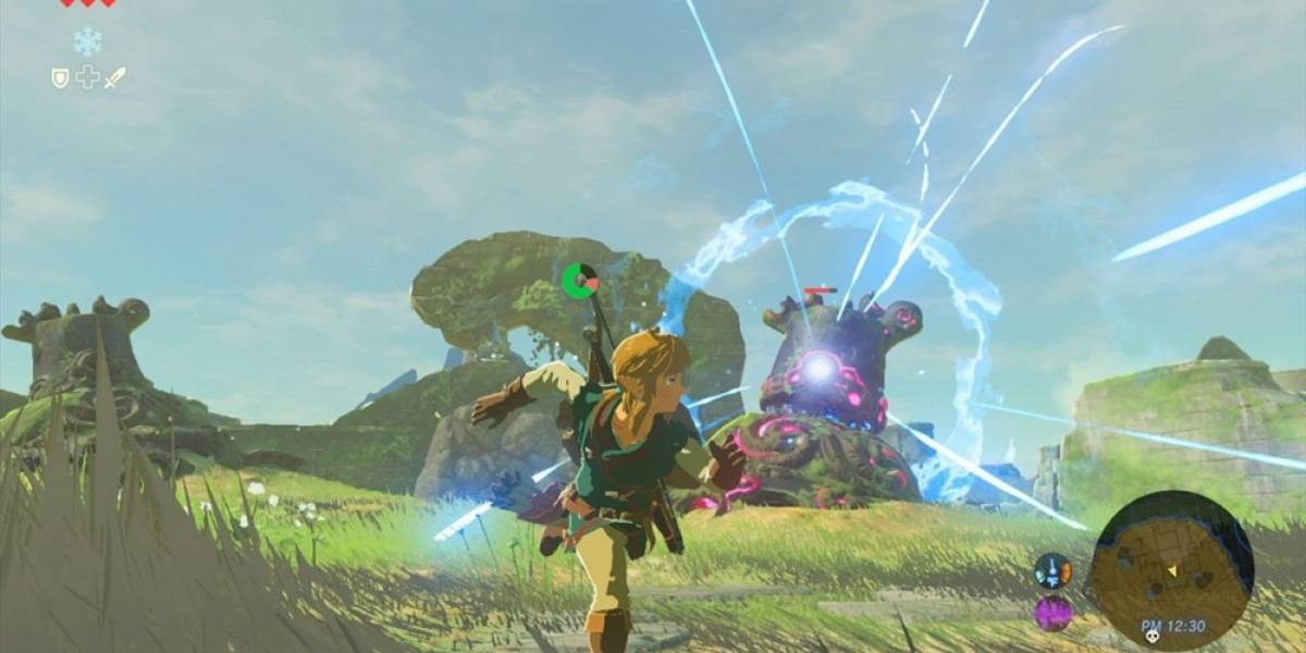 Video nos muestra algunas de las armas de Zelda: Breath of the Wild en acción