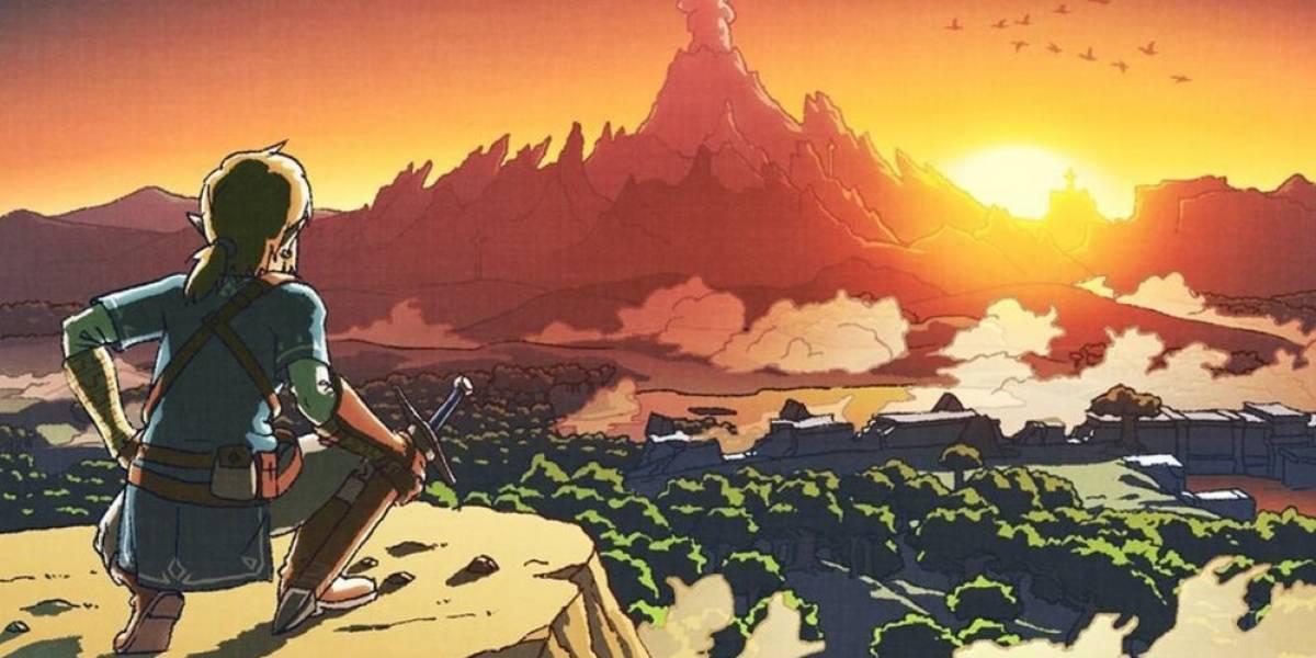 Nintendo comienza el año con arte de Zelda: Breath of the Wild